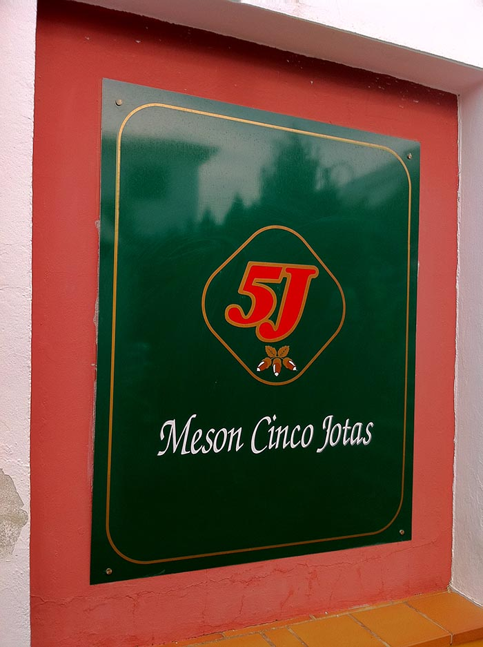 La maison Cinco Jotas
