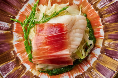 Jambon ibérique au poisson